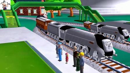 托马斯和他的朋友们141期亲子游戏: 史赛宾的新任务火车游戏★永哥玩游戏