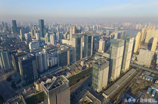 武汉全景图手绘