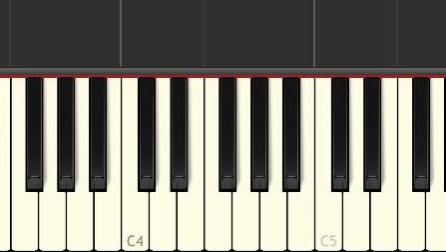 钢琴曲《v3》synthesia piano