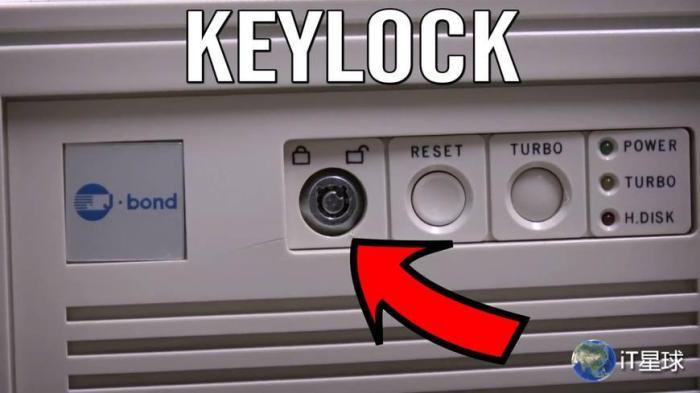 键锁是怎么锁电脑的,键锁的重要性就没有那么大了