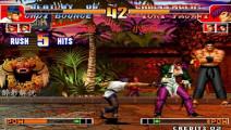 拳皇97: 昔日的世界冠军黄毅出手,这猴子的操作真是一绝