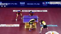 无敌是多么的寂寞!这是中国队才能打出来的神级乒乓球