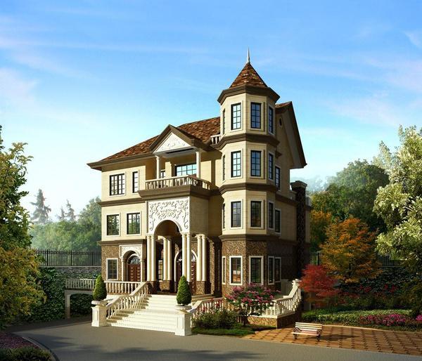 欧式风格的农村自建房设计