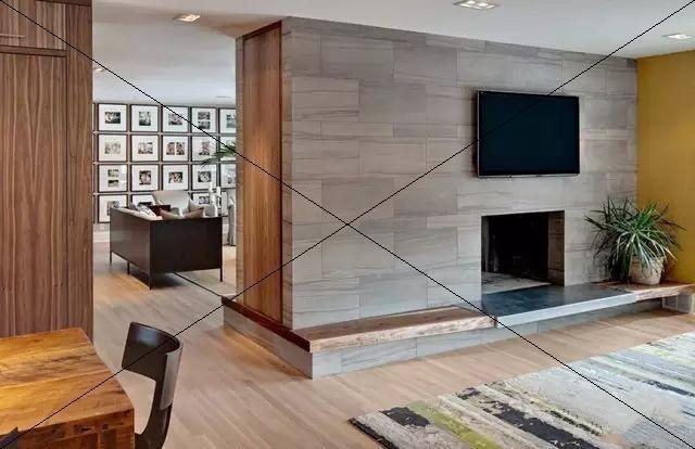 木紋磚上墻(二)-裝修使用木紋磚做背景墻效果美到爆!