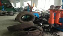 报废轮胎如何取出钢丝,有专门的机械来对付它