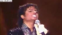当太空步第一次现世时,全场尖叫声!迈克尔杰克逊冠军单曲现场版
