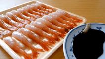 [尝鲜]日本生虾品尝