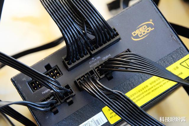80Plus认证,九州风神DA600-M全模组电源,DA600-M全模组静音电源