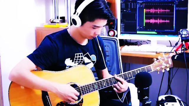 艾伦吉他教室 孙燕姿《遇见》吉他弹唱