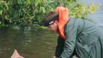 《花少》非洲亚马逊河钓鱼,娜扎被吓得腿都动不了