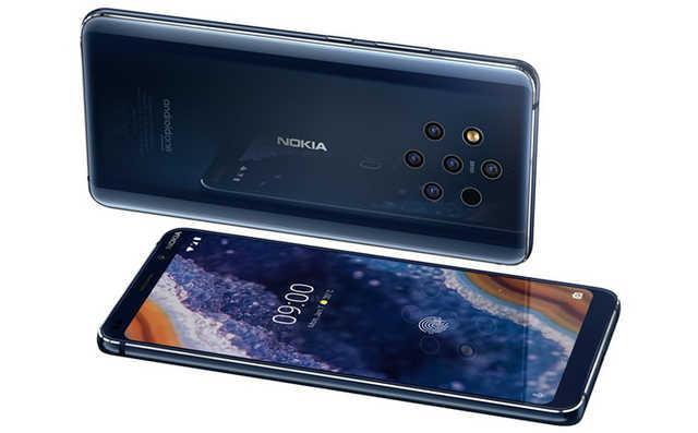 MWC 2019: 诺基亚推首款5摄手机Nokia 9 PureView