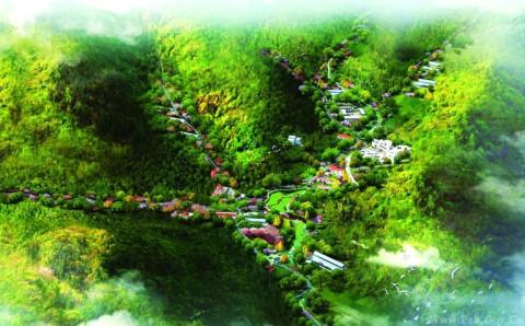 花城新区森林公园效果图.