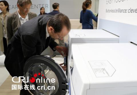 德国工艺设计师海德里希参加ifa 玩转海尔新科技