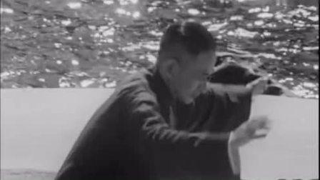 50年前的老视频, 太极大师海边练太极拳