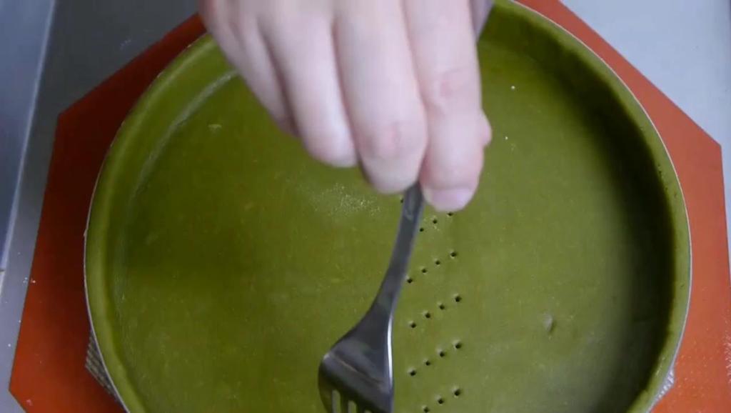 日本牛人手工制作抹茶蛋糕,处处透漏着完美,强迫症看了很舒服