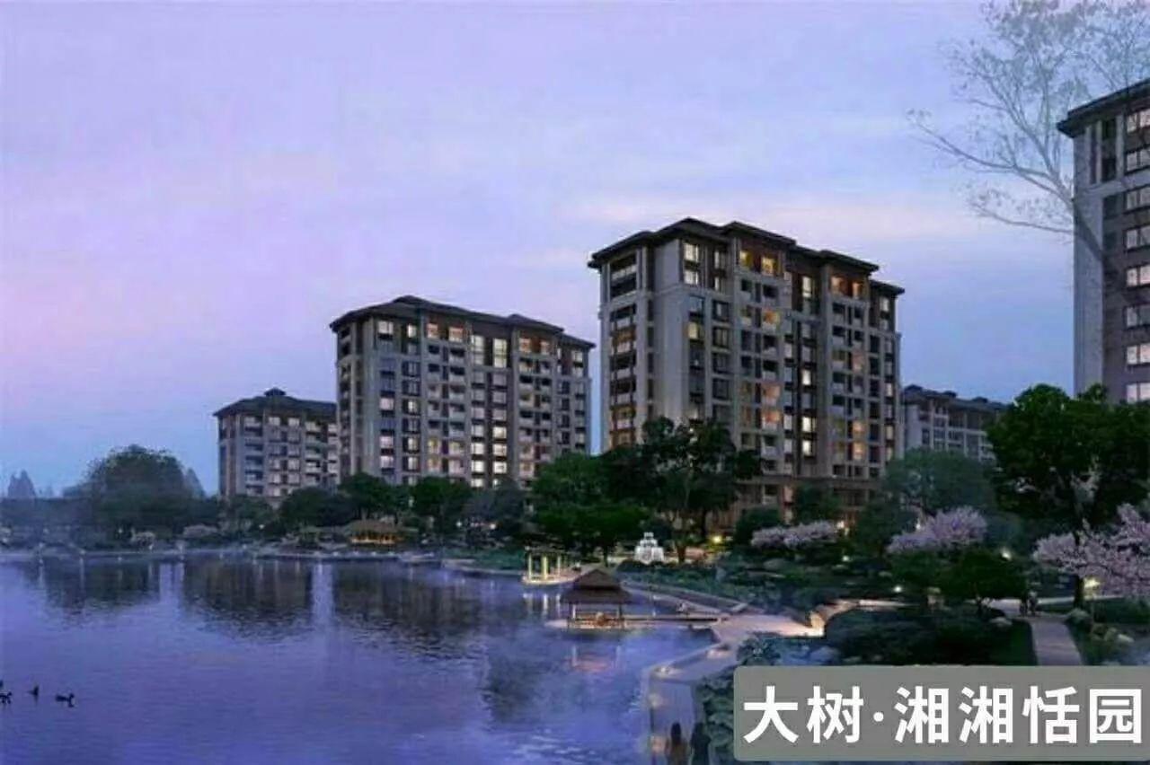 嘉兴南湖-大树·湘湘恬园—湘家荡景区旁, 低密度高档