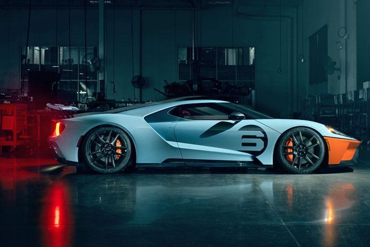 看这车,年式的福特GT,你觉得呢