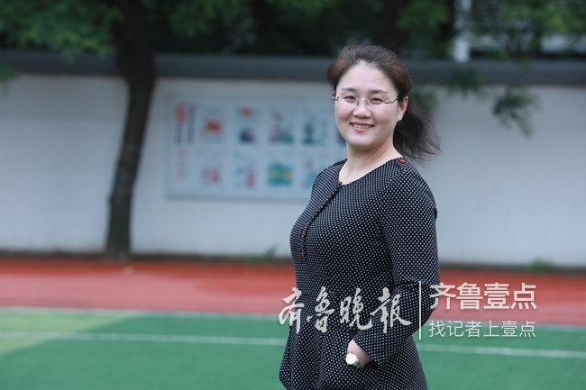 打造学生最爱的课堂 济宁市第十二中学教师冯秀丽: