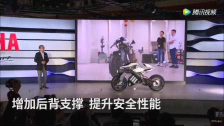 2018CES地上最帅载具 雅马哈MOTOROiD 来自未来的摩托车