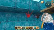 迷你世界: 史上打鱼最快的玩家 一秒钟100条
