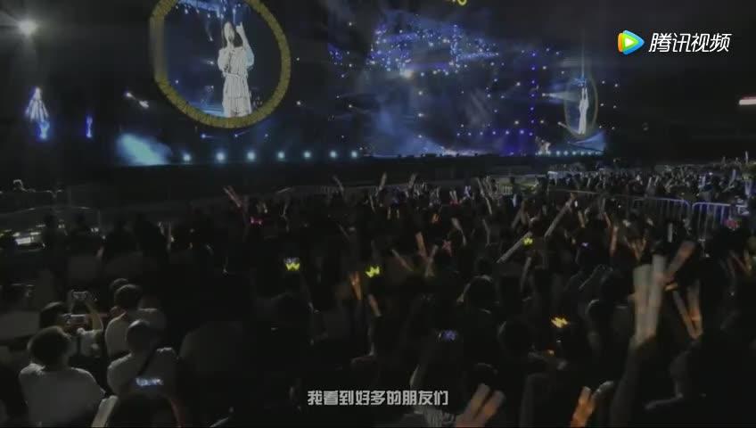 张韶涵演唱会一首代表作《隐形的翅膀》,经典之作百听不厌