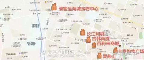 青岛西海岸未来410万人. 五大商圈, 还要通第二条隧道!