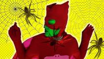 搞笑蜘蛛侠 露娜变出大蜘蛛搞事情被猫人盖柯围攻
