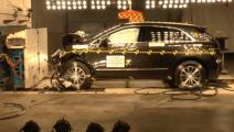 凯迪拉克XT5碰撞测试,看完你就知道这车安全不安全了