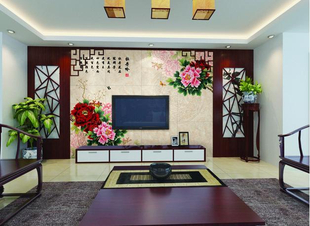中式电视背景墙风格鉴赏 感受古典韵味