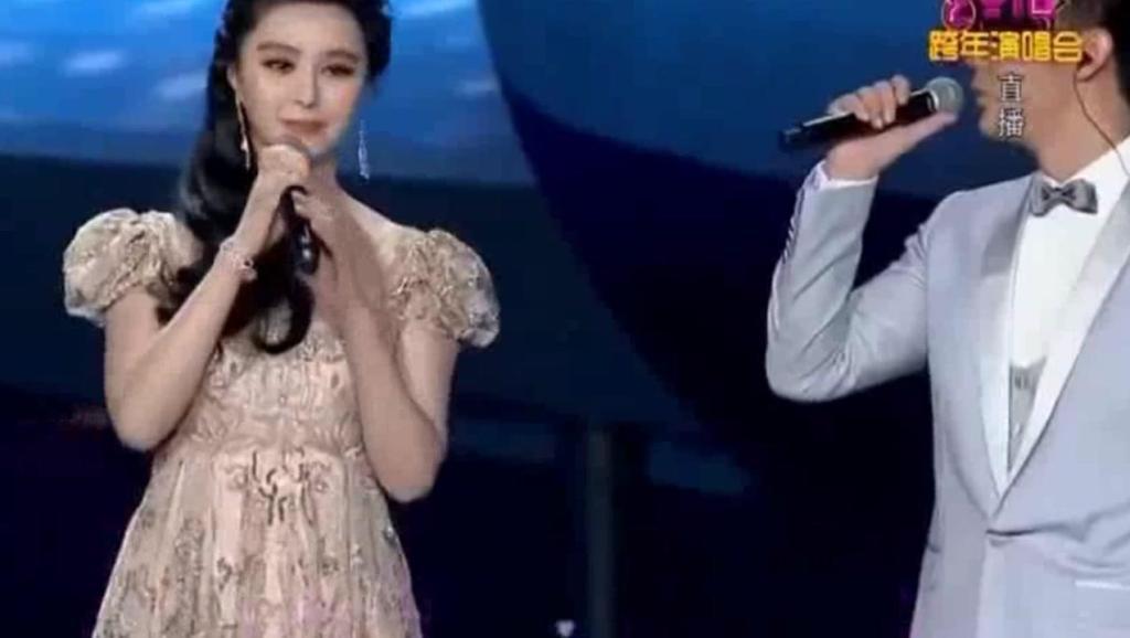 范冰冰和李晨合唱歌曲,甜的腻人