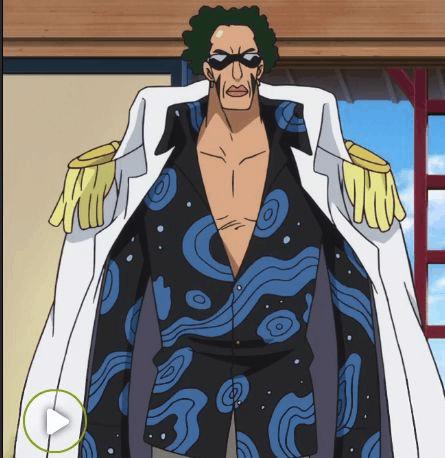 海贼王帕奇斯: 海军新大将-绿牛样貌神还原