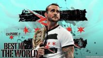 最受摔迷喜欢的 cm.朋克 在WWE技术绝对一流!看了对战罗门.伦斯你就知道了