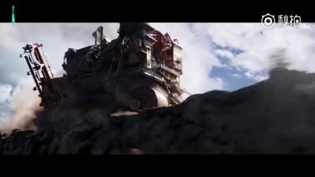 同名小说改编电影《致命引擎》 简直大西部版的霍尔移动城堡啊!