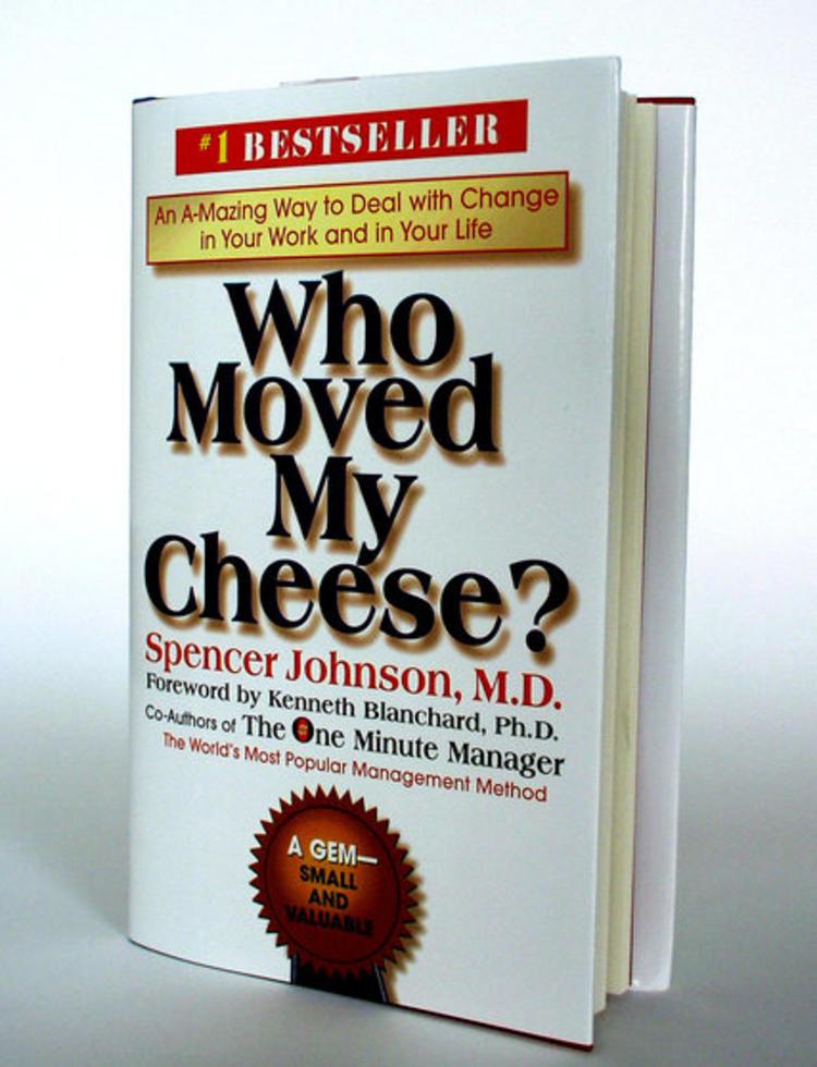 《谁动了我的奶酪》作者斯宾塞·约翰逊去世, 你看过这书么?