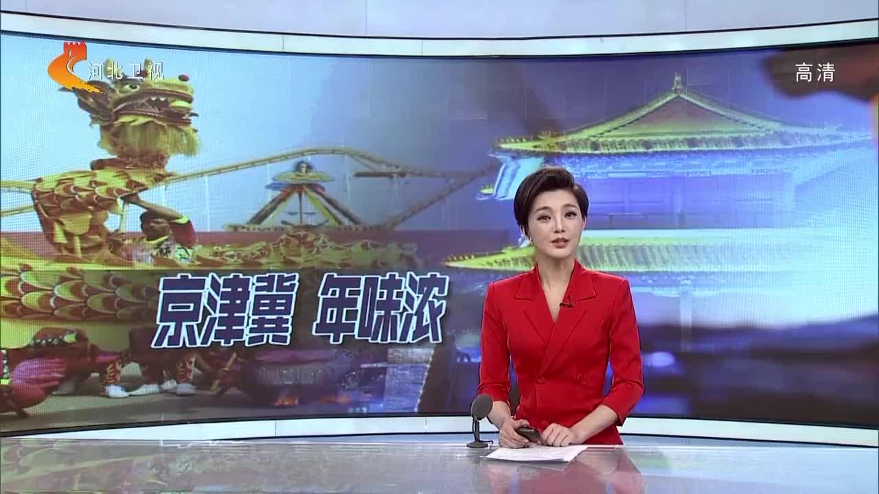 """石家庄第十五届""""庆新春·欢乐大广场""""活动举行"""