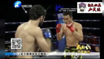 中国小伙吊打俄罗斯拳手猛击头部几十拳打累了十字固降服获胜