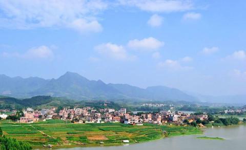 奇石乡位于贵港市港北区北部