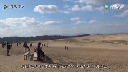日本如仙境般的沙漠, 世界地质公园, 据说是从中国偷的