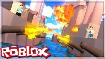 面面解说Roblox虚拟世界 超级战舰大决斗!不小心走火炸了自己船