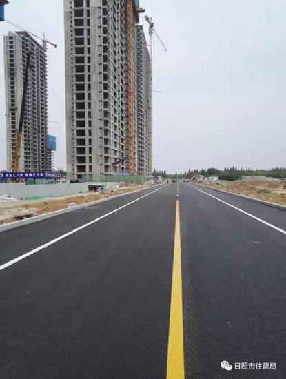 莒州路(青岛路至文登路)正式开放通车