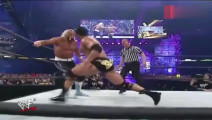 WWE强森当年的巅峰之战 受万众瞩目成就经典