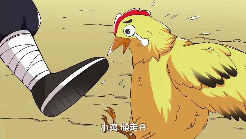 这是我见过可怜的一只鸡,口口声声说爱护小动物,下场比谁都惨