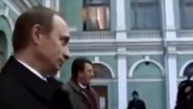 普京遭遇过的惊险一幕: 保镖不是吃素的