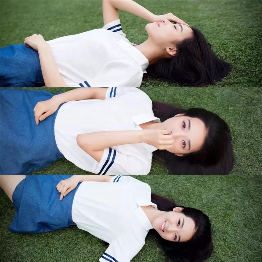 演员宁心曝青春校园写真 清新软萌惹人爱