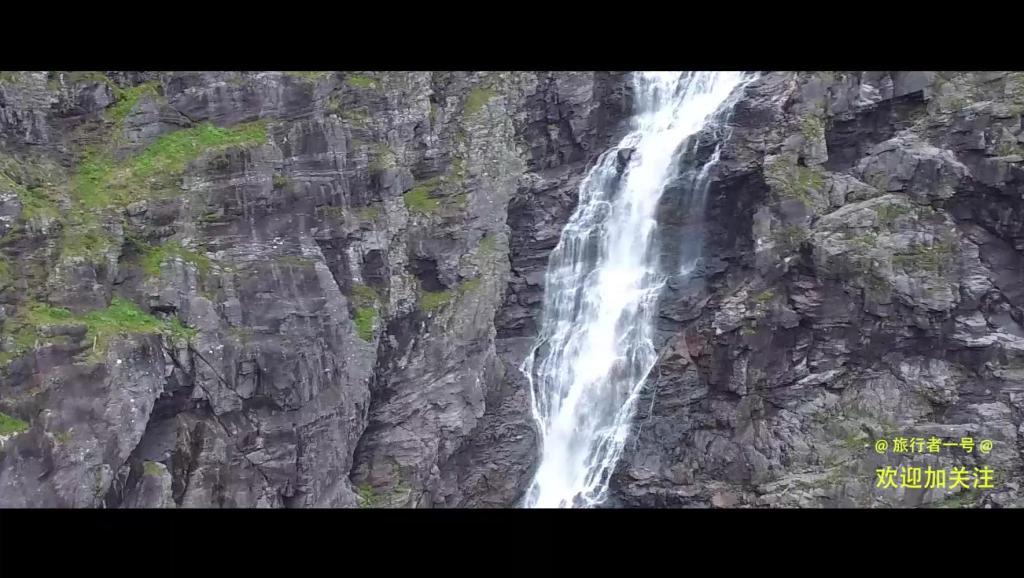 航拍盖朗厄尔瀑布,这个角度你没看过[挪威Escape]