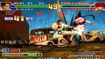 拳皇98c: 琢磨一套五十一连拿下夏尔米,这技术在游戏厅会被围观