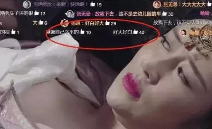 她因出演新《倚天屠龙记》一炮而红, 全程无一句台词, 却因胸而爆红网络