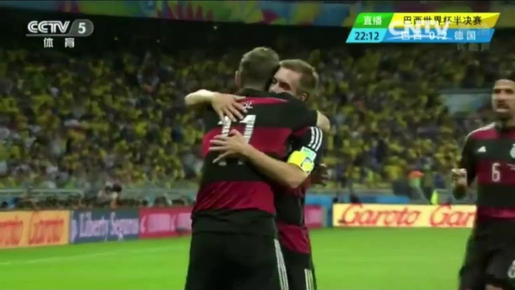 2014年巴西世界杯德国队7球狂胜巴西队,2018年大热门卫冕冠军令期待