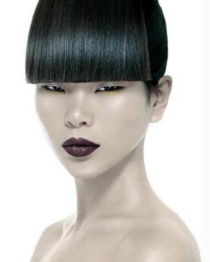 欧美模特脸部雀斑