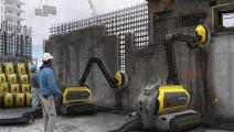 把混凝土当饭吃的机器人,拆迁扔一台进去太方便!